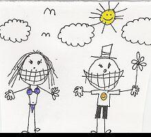 Doodle Stick-Peoples by JJ Enriquez