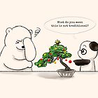 Christmas Bonsai by Panda And Polar Bear