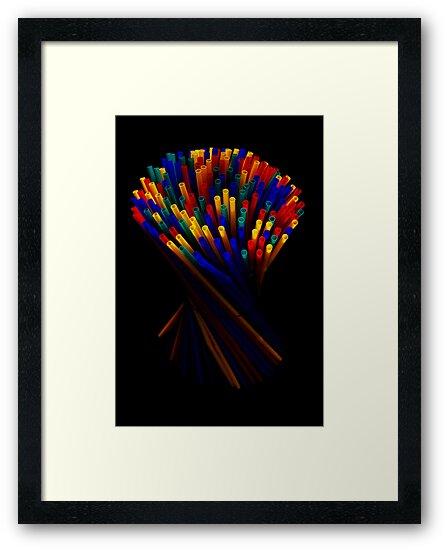 Plastic Straw II by jerry  alcantara