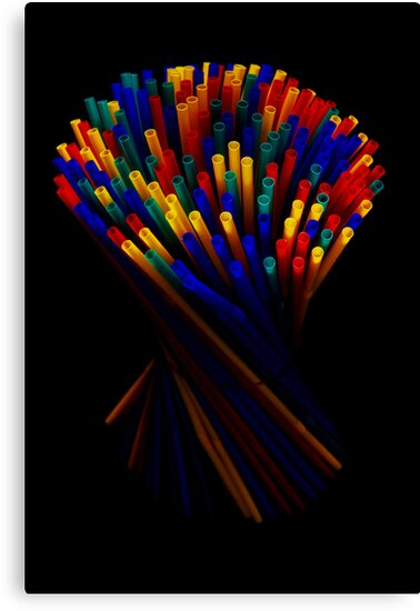 Plastic Straw II by jerry  alcantara