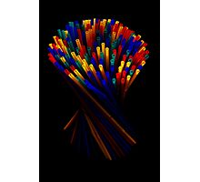 Plastic Straw II Photographic Print
