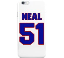 National football player Dan Neal jersey 51 iPhone Case/Skin
