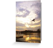 Afloat in the skies 2 Greeting Card