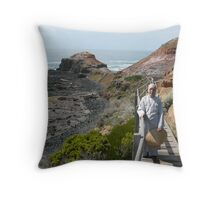 The Old Nun and the Sea Throw Pillow