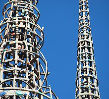 Watts Towers by Mike Shin