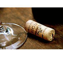 Barcelona wine Photographic Print