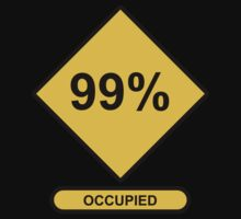 Occupy Movement - 99 Percent Occupied by wetdryvac