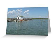Crab Shack on the Chesapeake Bay Greeting Card