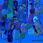  ( BLUE RAIN ) ERIC WHITEMAN ART  by eric  whiteman