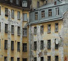Old walls by Anatoliy Spiridonov