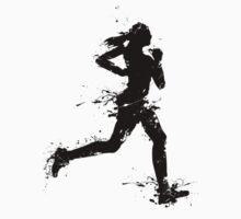 Female runner 1c by Richard Eijkenbroek