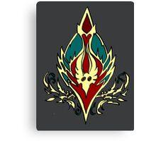 Blood elf icon - Worlf of Warcraft Canvas Print