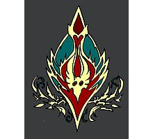 Blood elf icon - Worlf of Warcraft Photographic Print