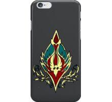 Blood elf icon - Worlf of Warcraft iPhone Case/Skin