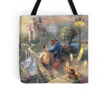 The Beauty and The Beast Disney - All Characters Tote Bag