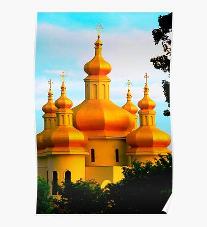 Ukrainian Church Poster