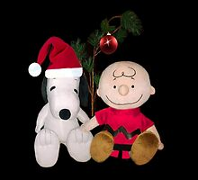SNOOPY & CHARLIE BROWN CHRISTMAS PILLOW AND OR TOTE BAG by ✿✿ Bonita ✿✿ ђєℓℓσ