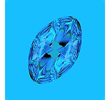 blue jewel Photographic Print