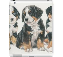 Bernese Mountain Dog Puppies iPad Case/Skin