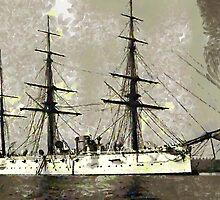 British Cruiser Calliope 1880 - all products bar duvet by Dennis Melling