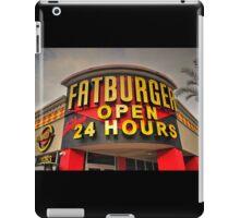 Fatburger  iPad Case/Skin