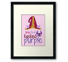 Lulu - Yup, That Tasted Purple! - League of Legends Framed Print