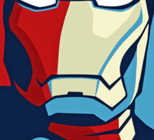 Ironman Obamized Style - Nerdy Must Have Sticker