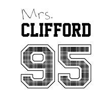 Mrs. Clifford 95 white Photographic Print