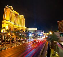 The Strip at Night  by Rob Hawkins