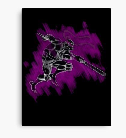 TMNT Donnie Canvas Print