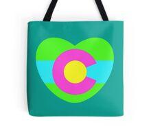Colorado Love - Neon Edition Tote Bag