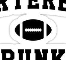 Quarterback Punk Sticker
