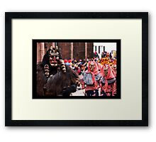 The Devil and his brides II Framed Print