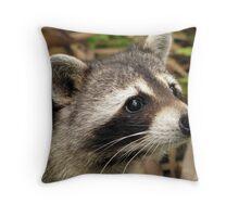 Little Bandit Throw Pillow