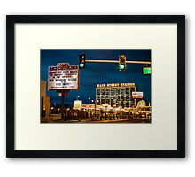 Main Street Station  Framed Print
