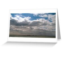 CALM STORMS Greeting Card