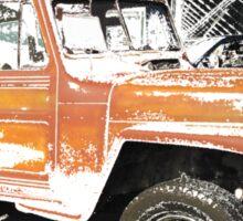 Willys Wagon Sticker