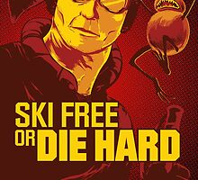 Ski Free or Die Hard by dauntlessds