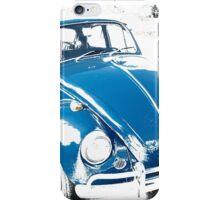 Blue bug iPhone Case/Skin