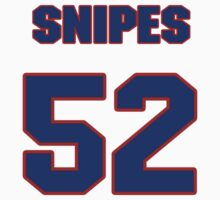 National football player Angelo Snipes jersey 52 by imsport