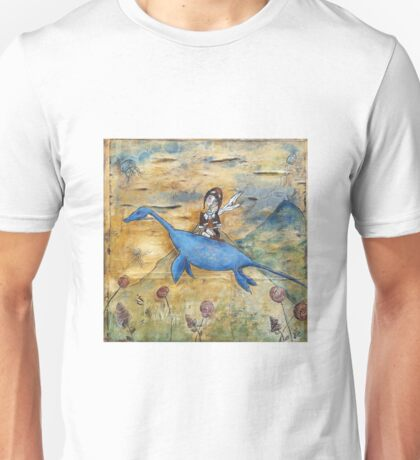 Amelia and Nessie Unisex T-Shirt