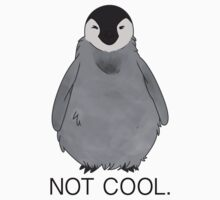 Not Cool Penguin Kids Clothes