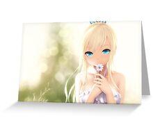 Boku wa Tomodachi ga Sukunai - Kashiwazaki Sena, Kawaii Greeting Card