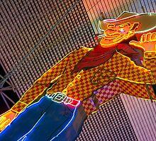 Vegas Cowboy  by Rob Hawkins