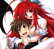 Highschool DxD - Rias Gremory and Issei Hyodo, Wedding by ghoststorm