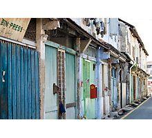 Shop Houses Photographic Print