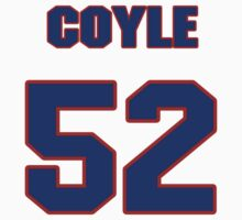 National football player Brock Coyle jersey 52 by imsport