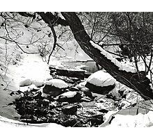 Winter Stream Photographic Print