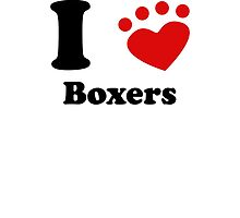 I Heart Boxers by kwg2200