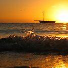 Vilanculos  Sunrise  - Mozambique by Damian Kuczynski